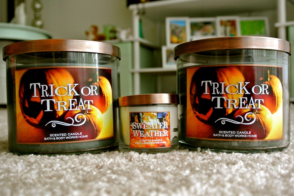 trick or treat candles