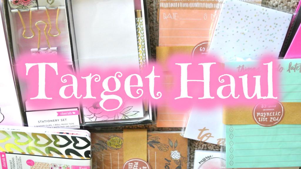 Target Dollar Spot Stationery Haul