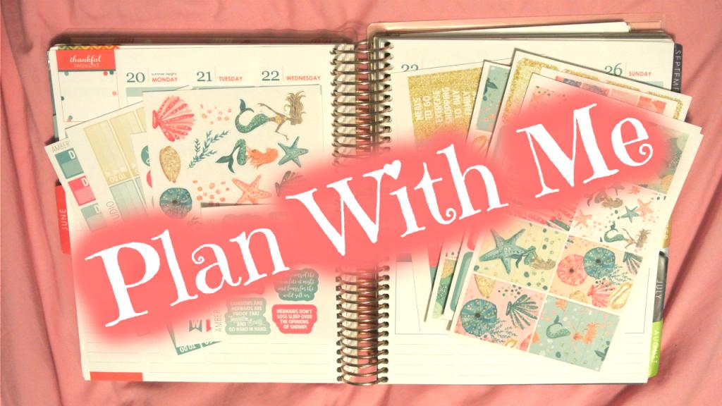 Plan With Me ~ AmbersDesignStudio Mermaid Mystery Kit