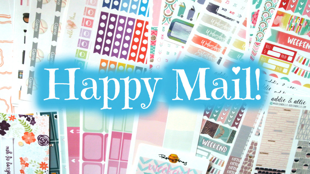 Happy Mail featuring PaperHoney, AddieandAllie and more!